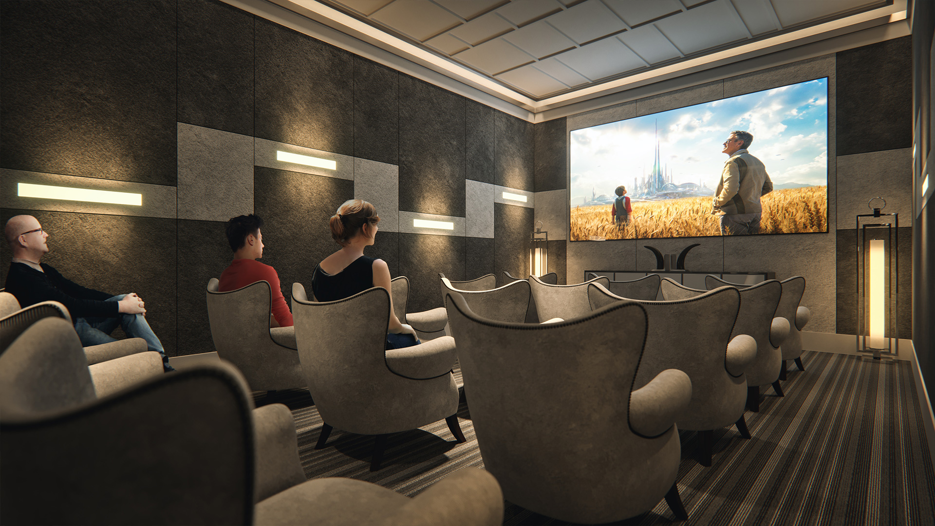 Legends of Cornerstone Amenities Movie Theatre