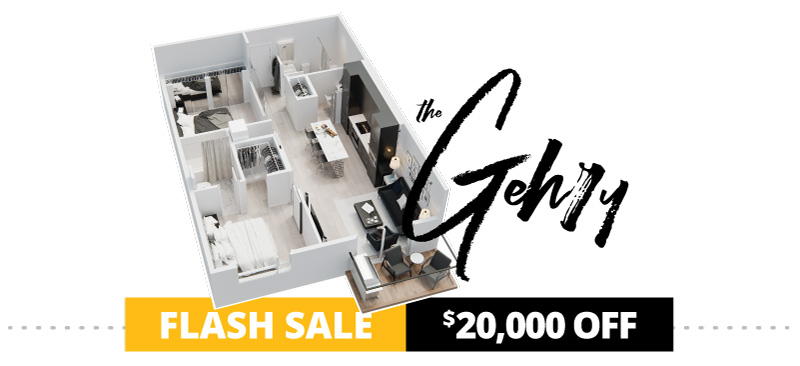 Legends FLASH Sale - The Gehry Suite $20,000 OFF
